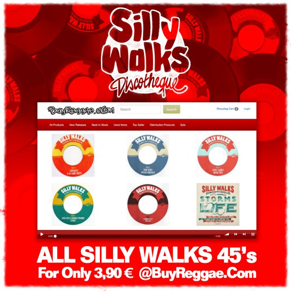 SillyWalks discount campaign @buyreggae.com
