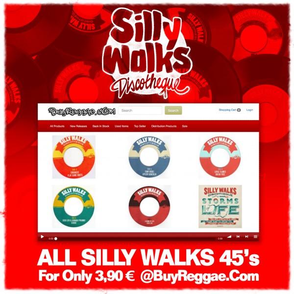 SillyWalks discount campaign @buyreggae.com